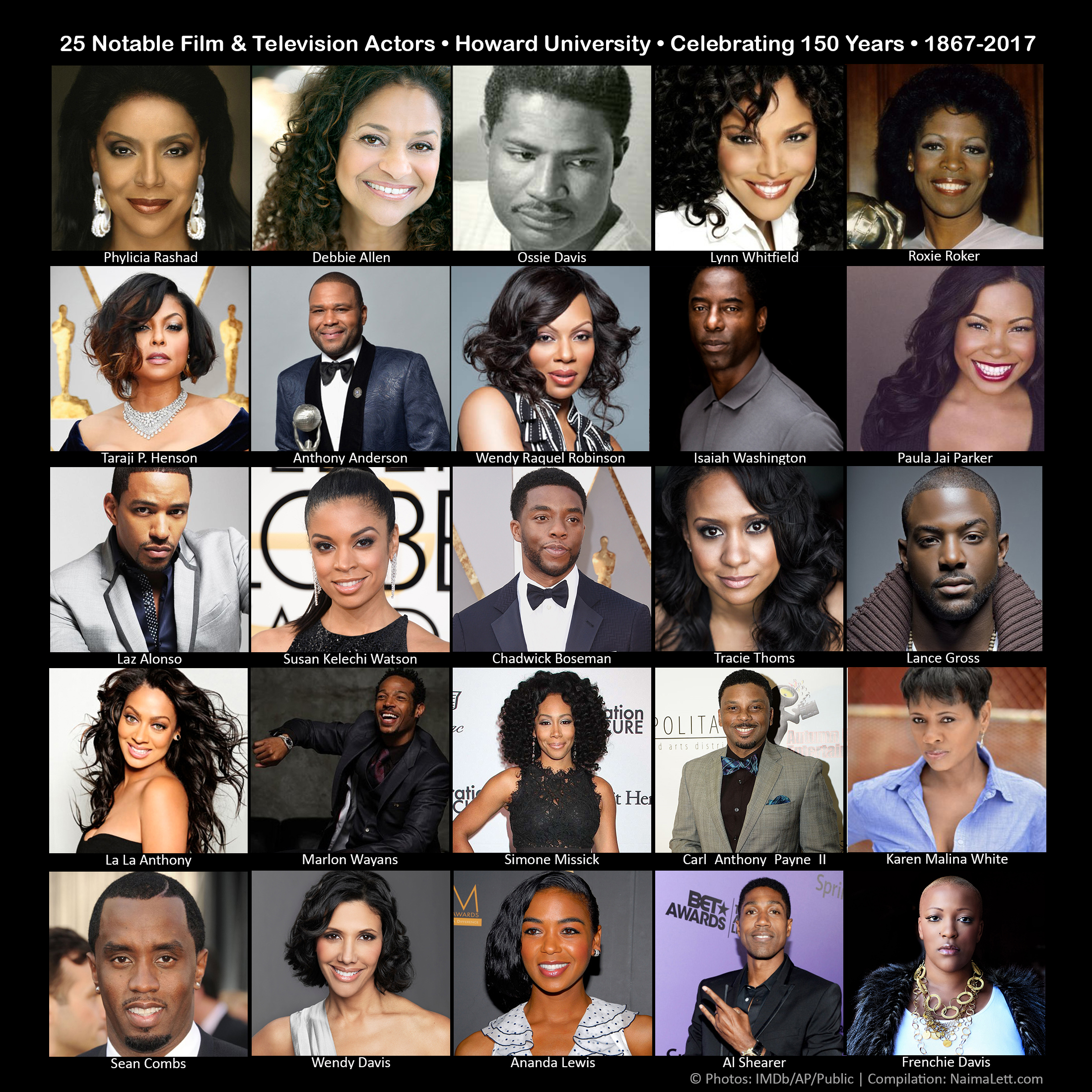 25 Notable Actors Who Attended Howard University